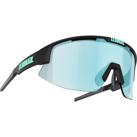 Bliz Matrix M11 Glasses for Small Faces, matte black/smoke/icy blue multi